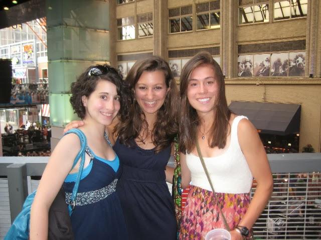 Jacque, Bianca and Ashley at CHD